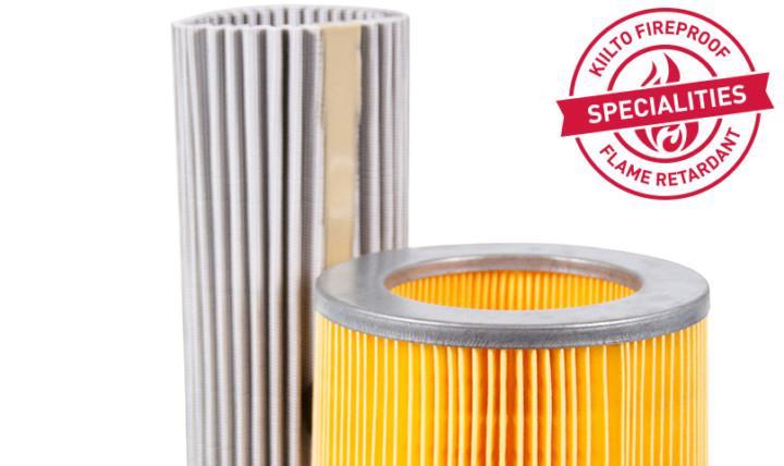 filter media flame retardants kiilto industry fireproof