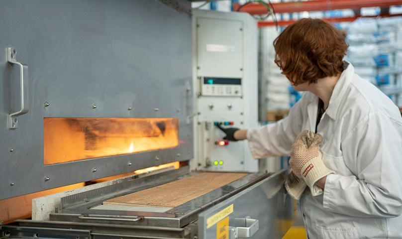 testing services flame retardants industry kiilto pro services